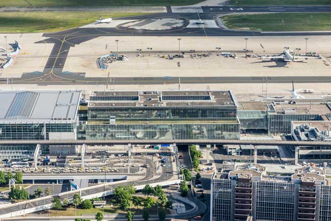 Frankfurt Airport is by far the busiest airport in Germany and the 4th in Europe.