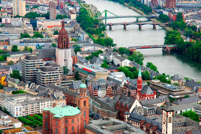 Frankfurt is the capital city of the state of Hesse and the fifth largest city in Germany.